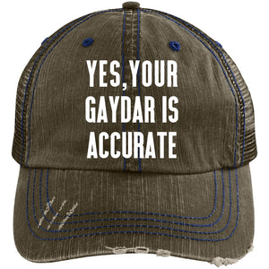 Yes your gaydar Hat