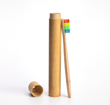 Load image into Gallery viewer, Wooden Rainbow ToothBrush