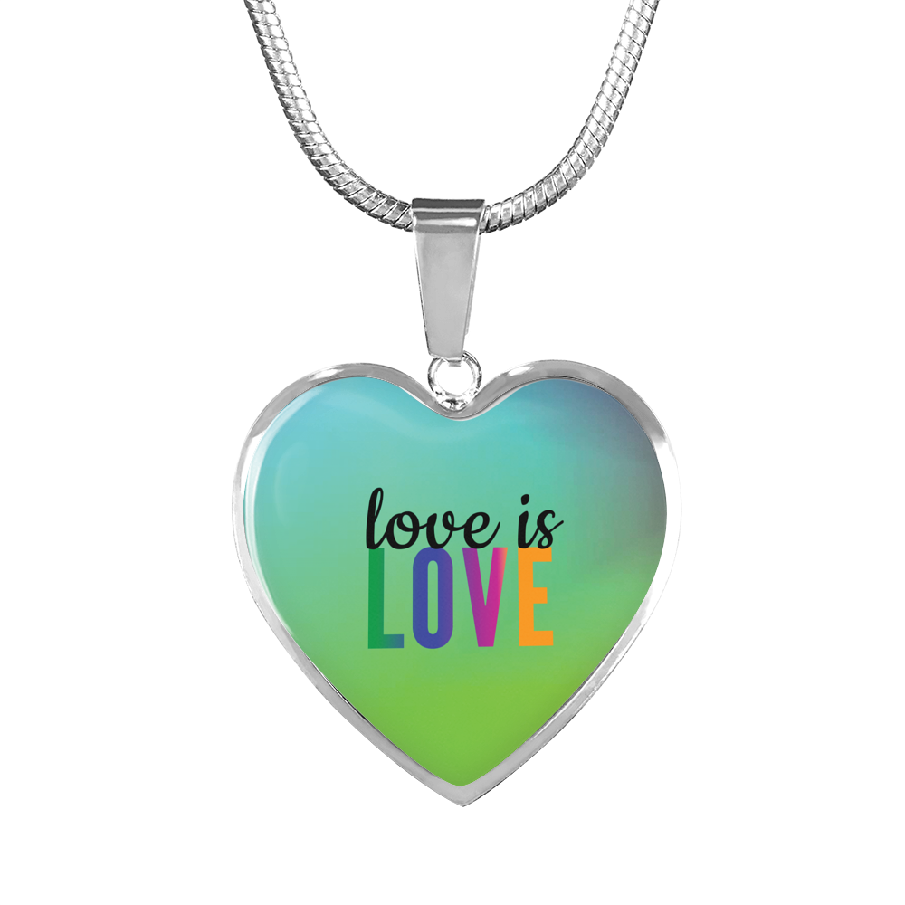 Love Is Love || Luxury Necklace & Bangle