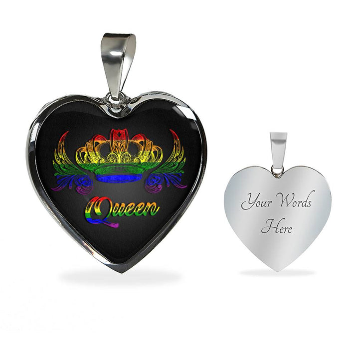 Rainbow Queen Necklace