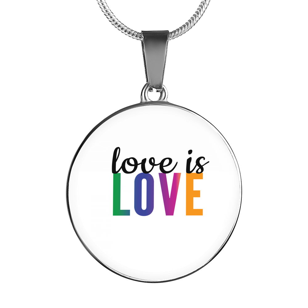 Love Is Love Necklace And Bangles