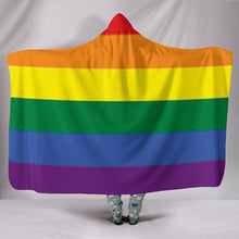 Load image into Gallery viewer, LGBT HOODED BLANKET