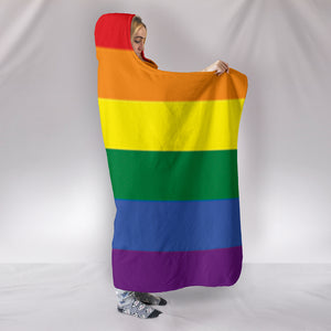 LGBT HOODED BLANKET