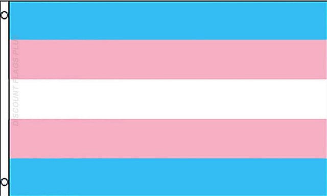 Transgender Supporting Flag