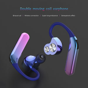 Rainbow Earhook Bluetooth Earphones