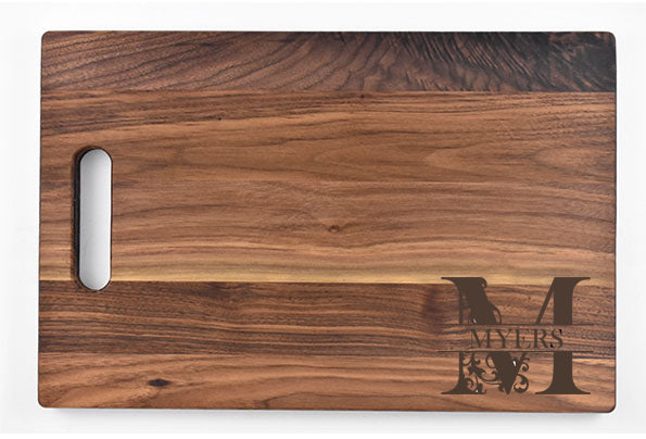 Rectangle Handle Cutting Board
