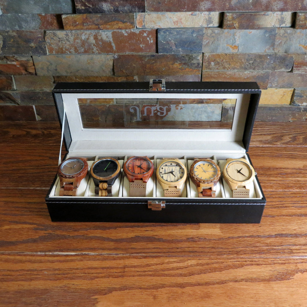 Personalized 6 Watch Box