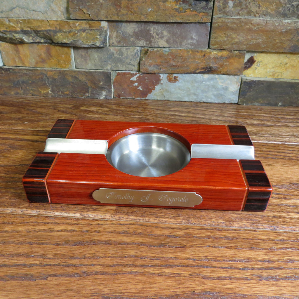 Custom Engraved Cigar Ashtray