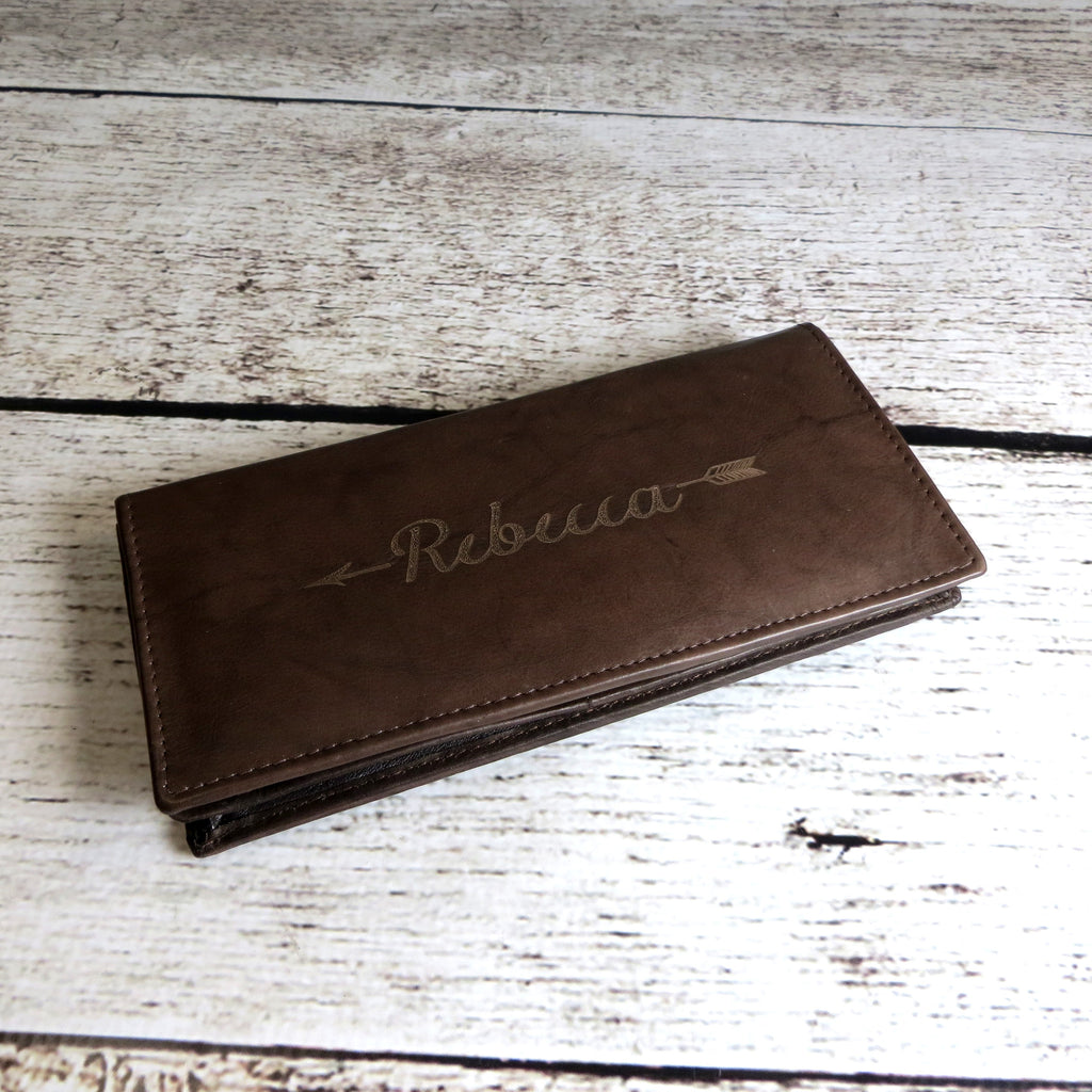 Personalized Leather Women's Wallet