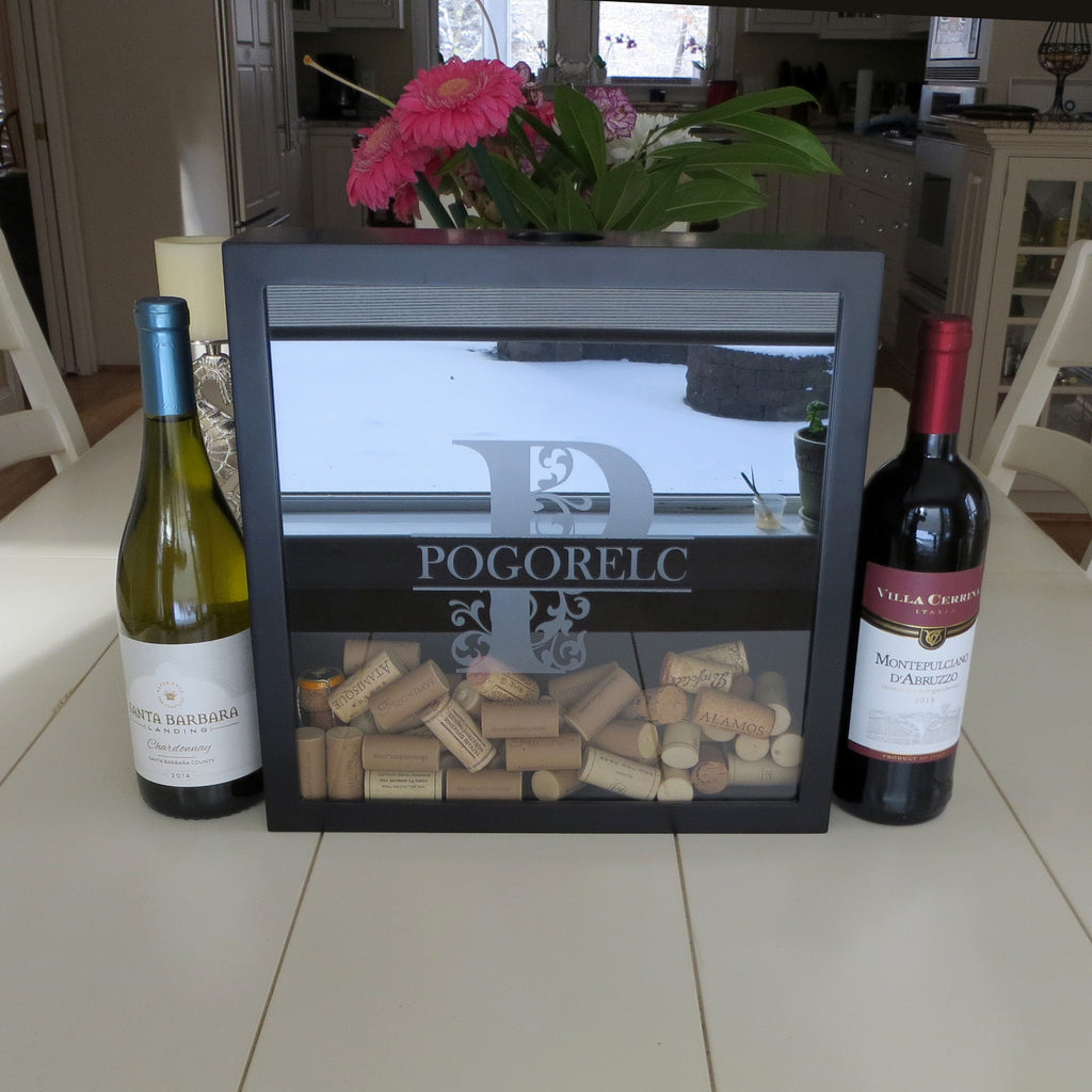 Personalized Cork Box