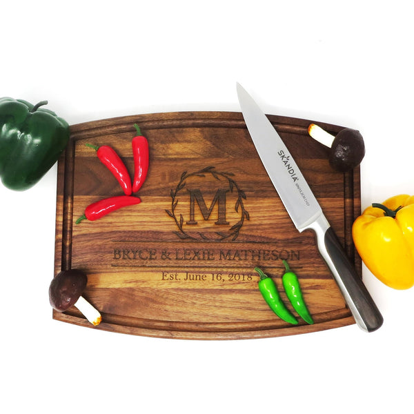 Customized Wood Cutting Board