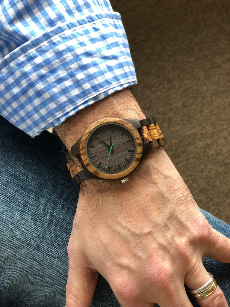 Personalized All Wood Wrist Watch