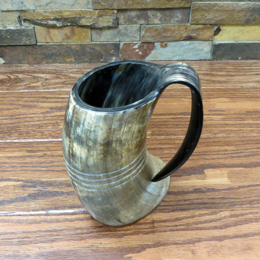 Authentic Buffalo Horn Personalized Beer Mug