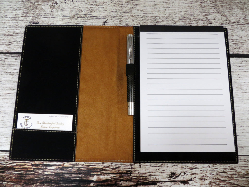 Personalized Note Pad and Pen