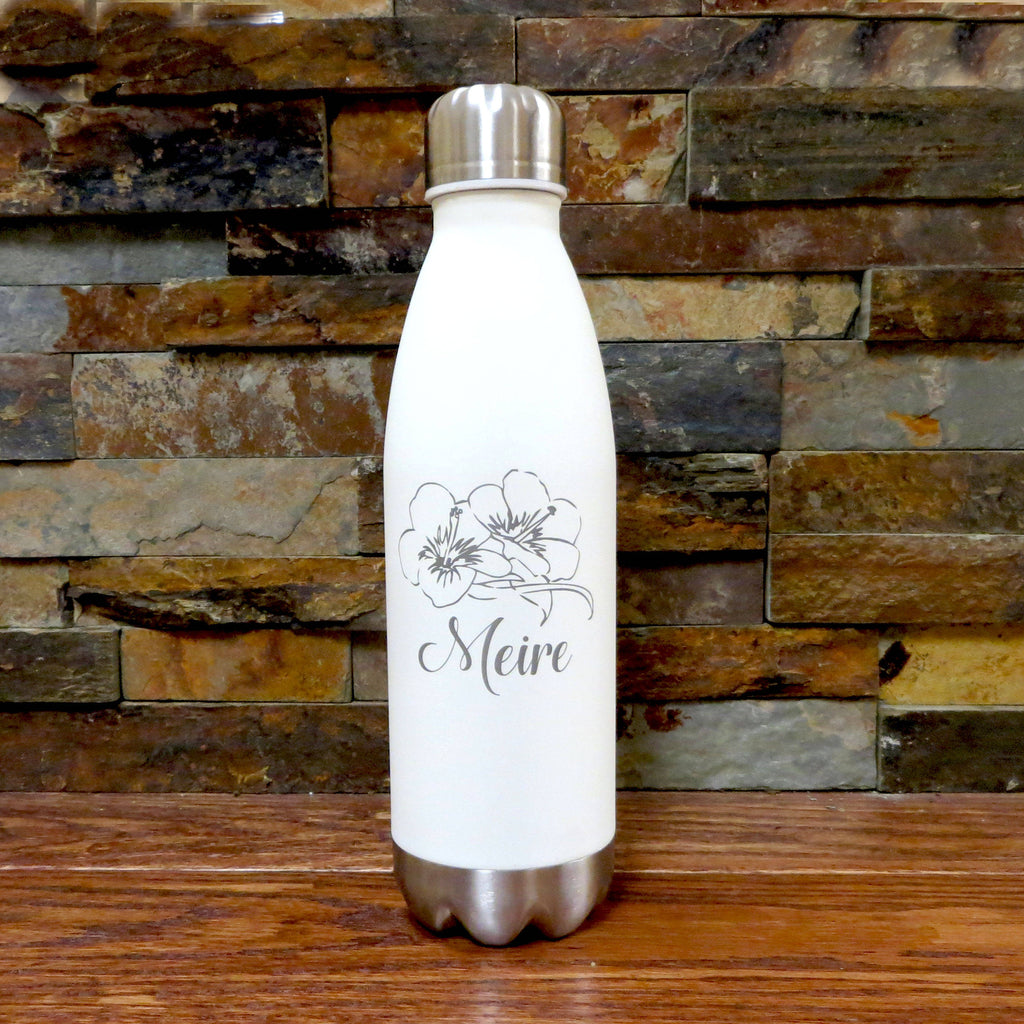 Personalized Water Bottle with Cap
