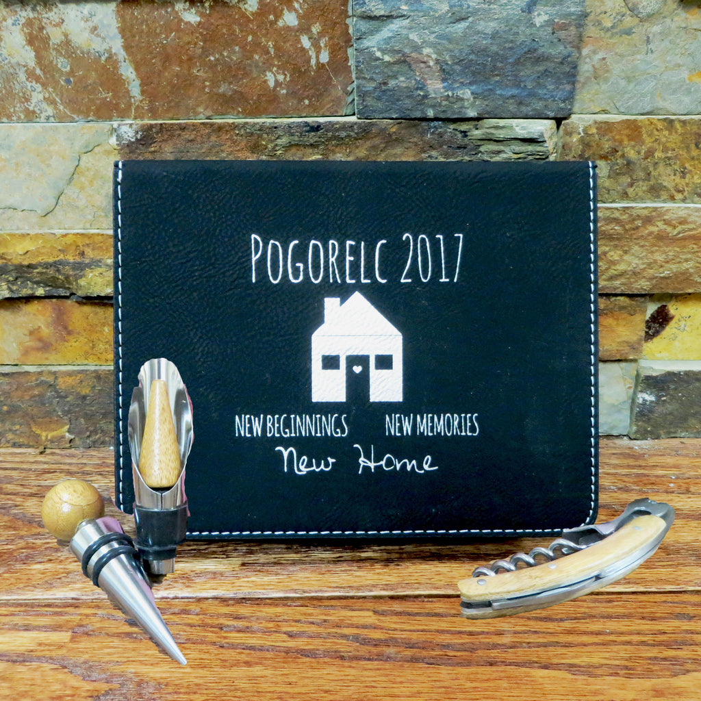 Personalized Wine Accessory Kit