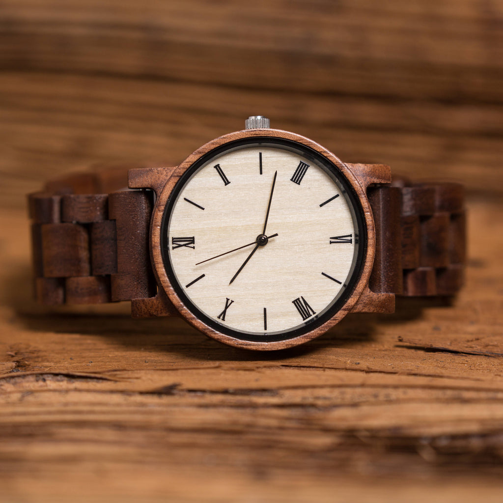 Personalized Wooden Wrist Watch