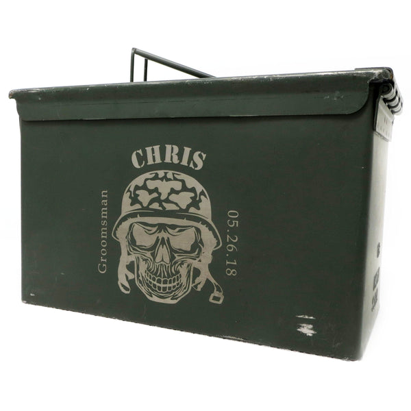 Ammo Can Personalized