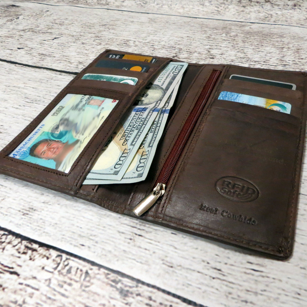 Mens Pocket Wallet with RFID