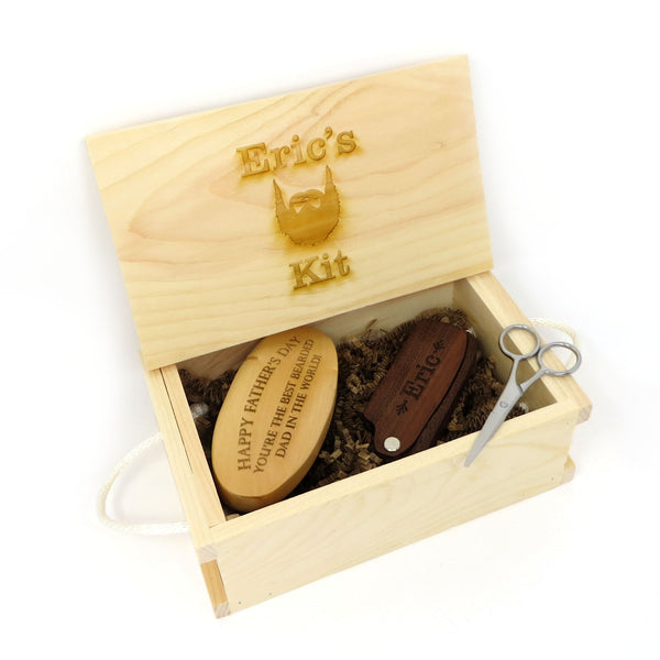 Engraved Grooming Gift Set