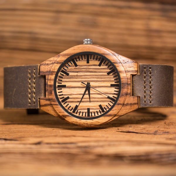 Mens Wood Wrist Watch