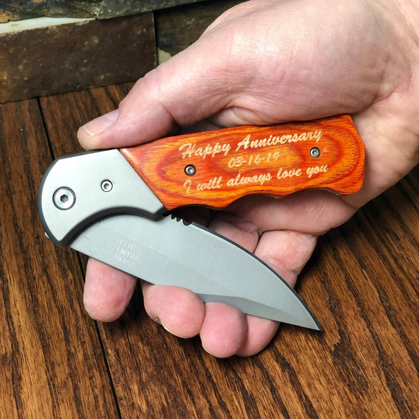 Custom Pocket Knife Personalized