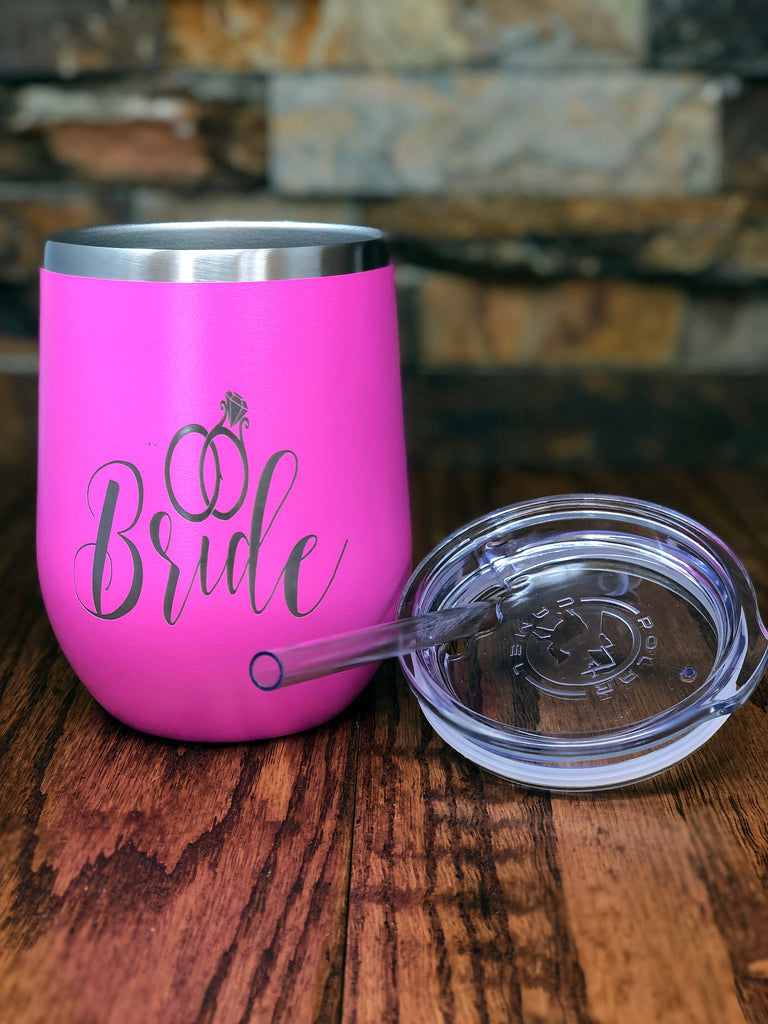 Personalized Wine Tumbler