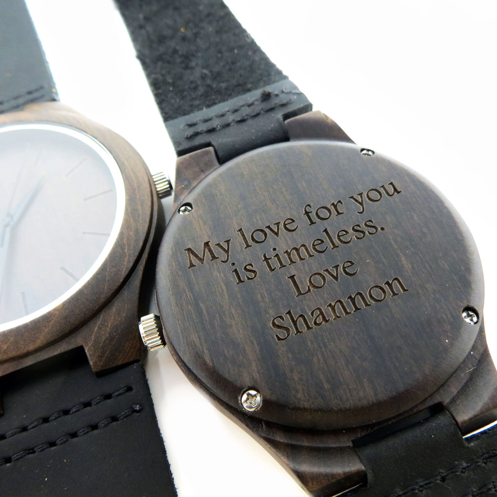 Black sandalwood Wood Wrist Watch
