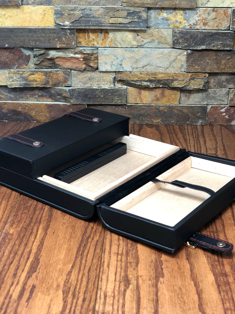 Leather Cigar Humidor Custom Personalized,