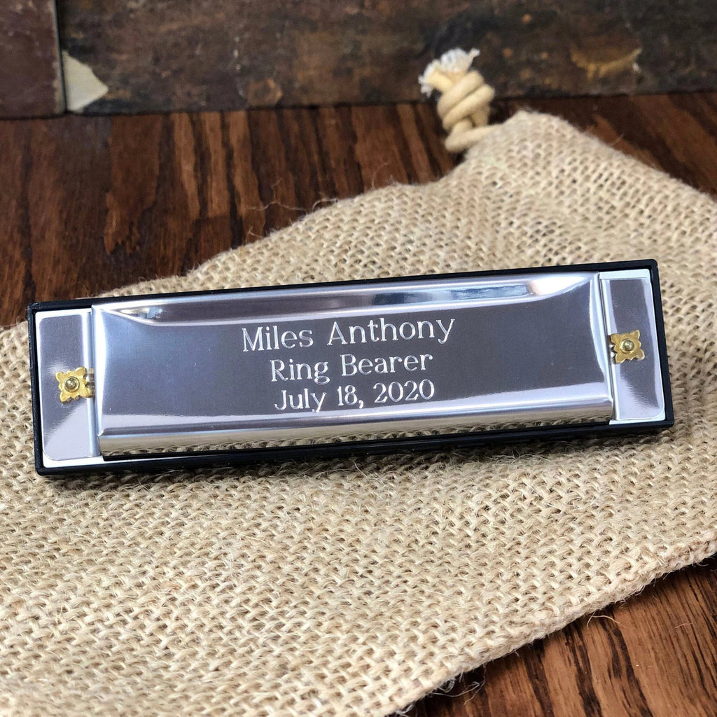 Harmonica Personalized Stainless Steel