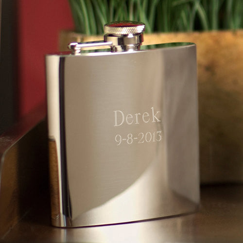 High Polished Stainless Steel Flask