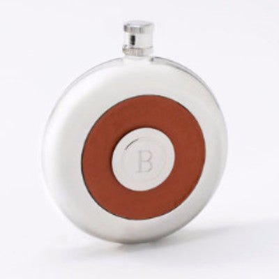 Personalized Flask with Shot