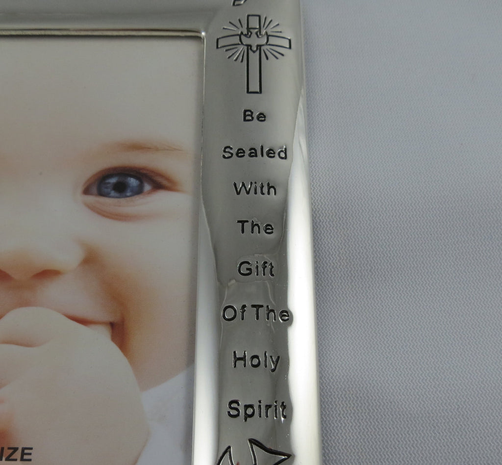 Personalized Baptism Picture Frame