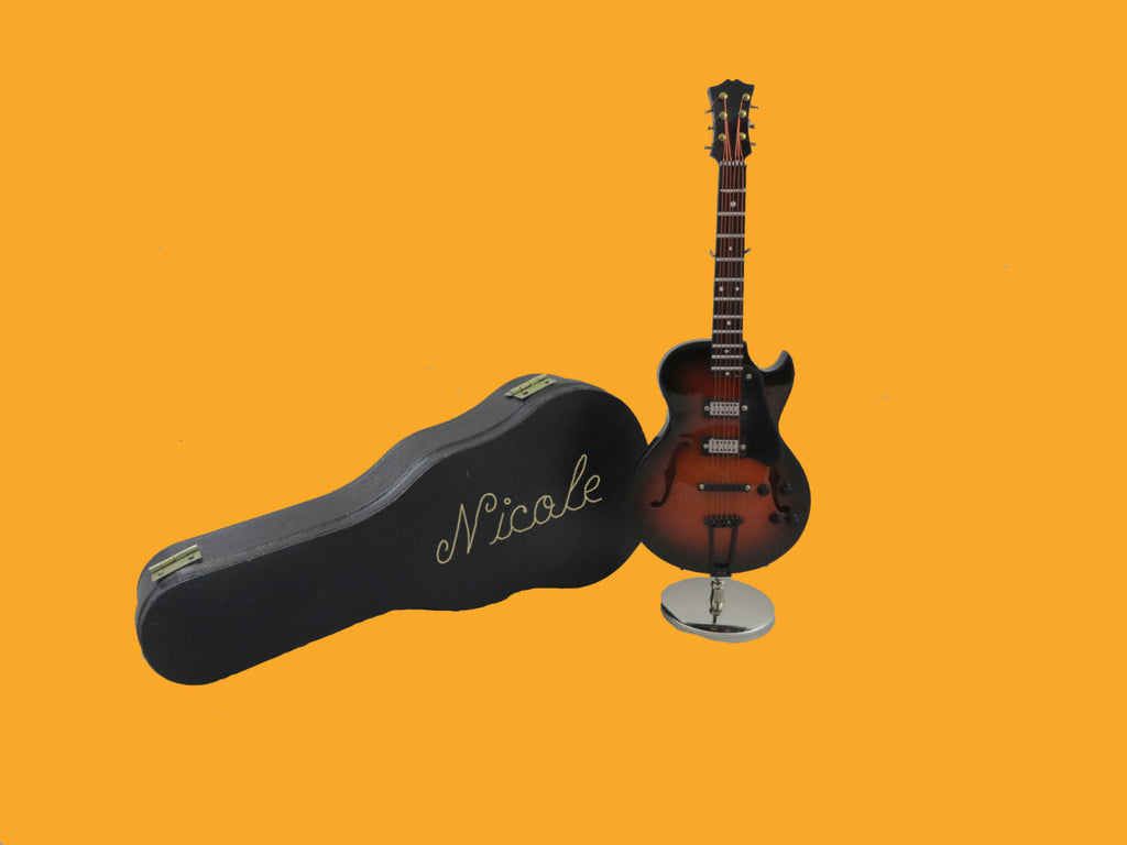 Personalized Miniature Gibson Guitar