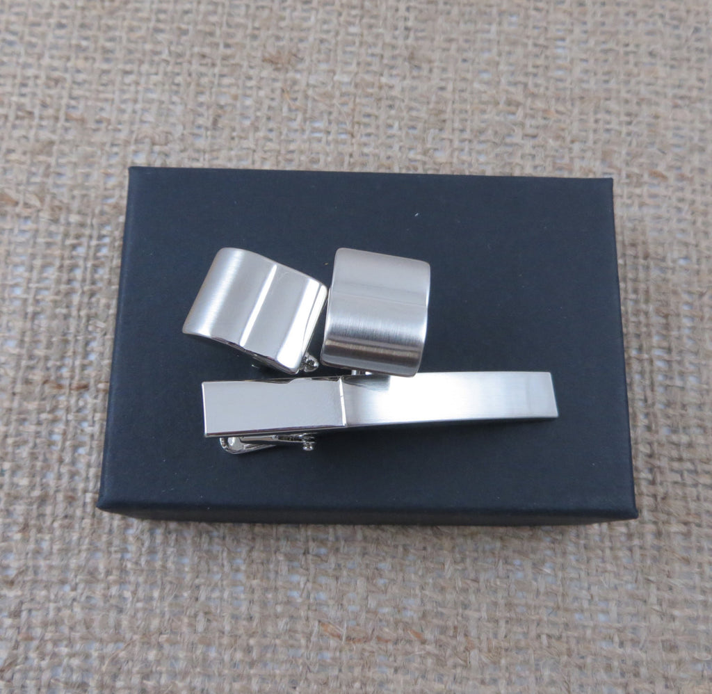 Tie Clip with Cuff Links
