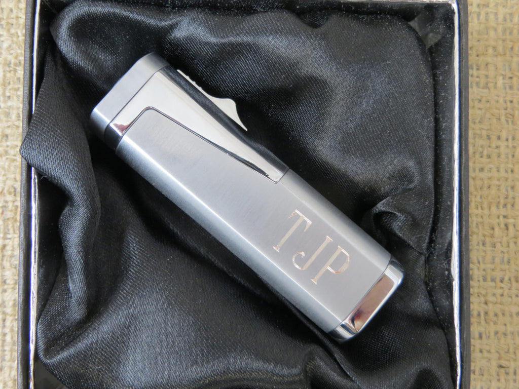 Cigar Lighter with Cigar Cutter Set