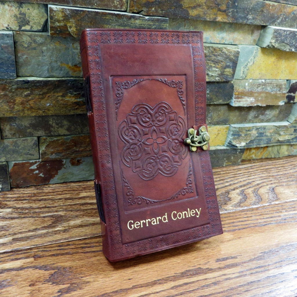 Leather Celtic Circle Journal