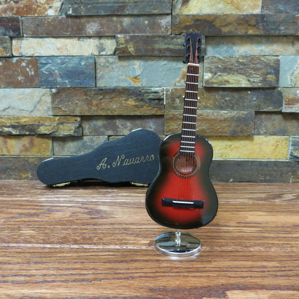 Personalized Miniature Acoustic Guitar