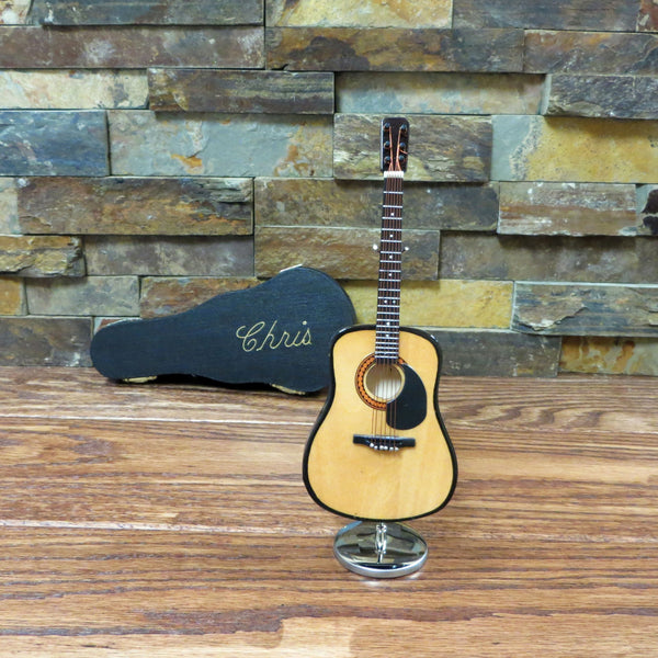 Personalized Miniature Guitar