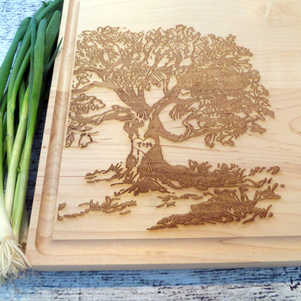 Wedding Tree Personalized Cutting Board