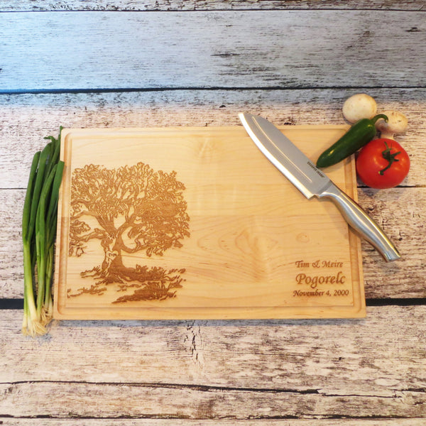 Wedding Tree Cutting Board