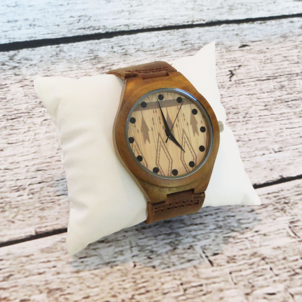 Personalized Wood Wrist Watch