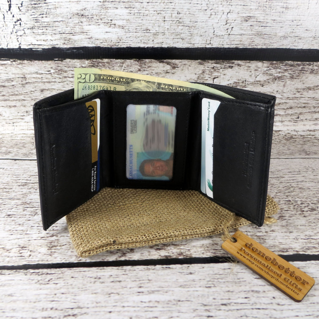 Tri-Fold Personalized Wallet