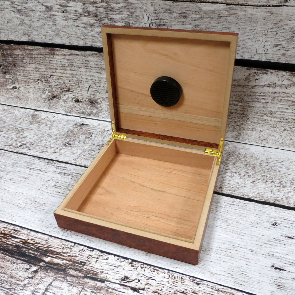 Marble Personalized Humidor and Keepsake Box