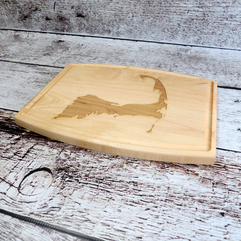 Personalized Cape Cod Cutting Board