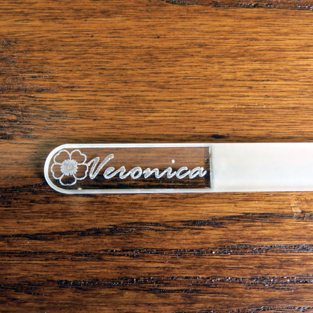 Personalized Crystal Nail File