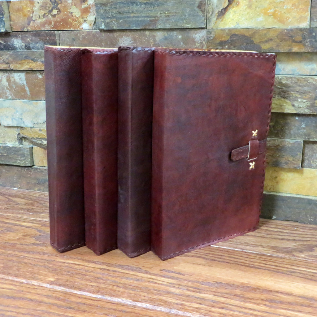 Monogrammed Leather Journal