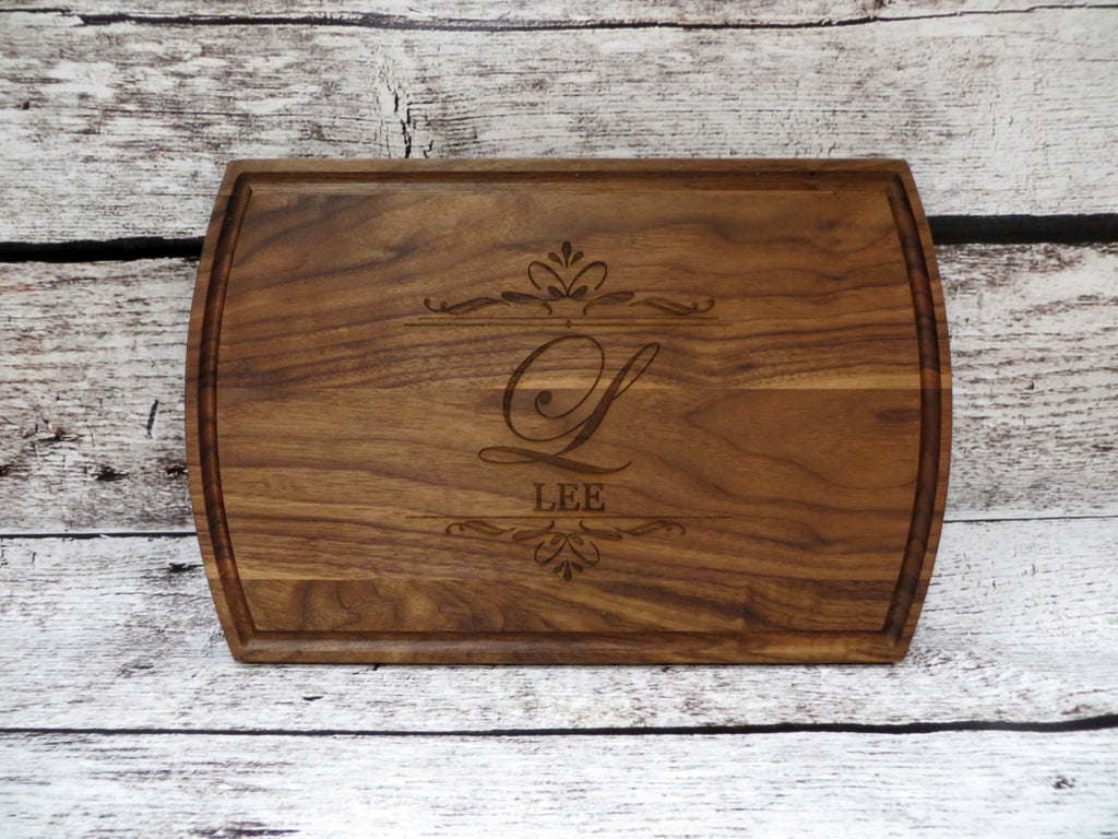 Large Family Name Cutting board
