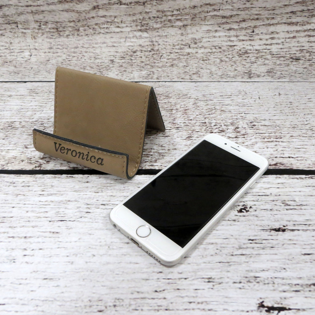 Personalized iPhone Stand