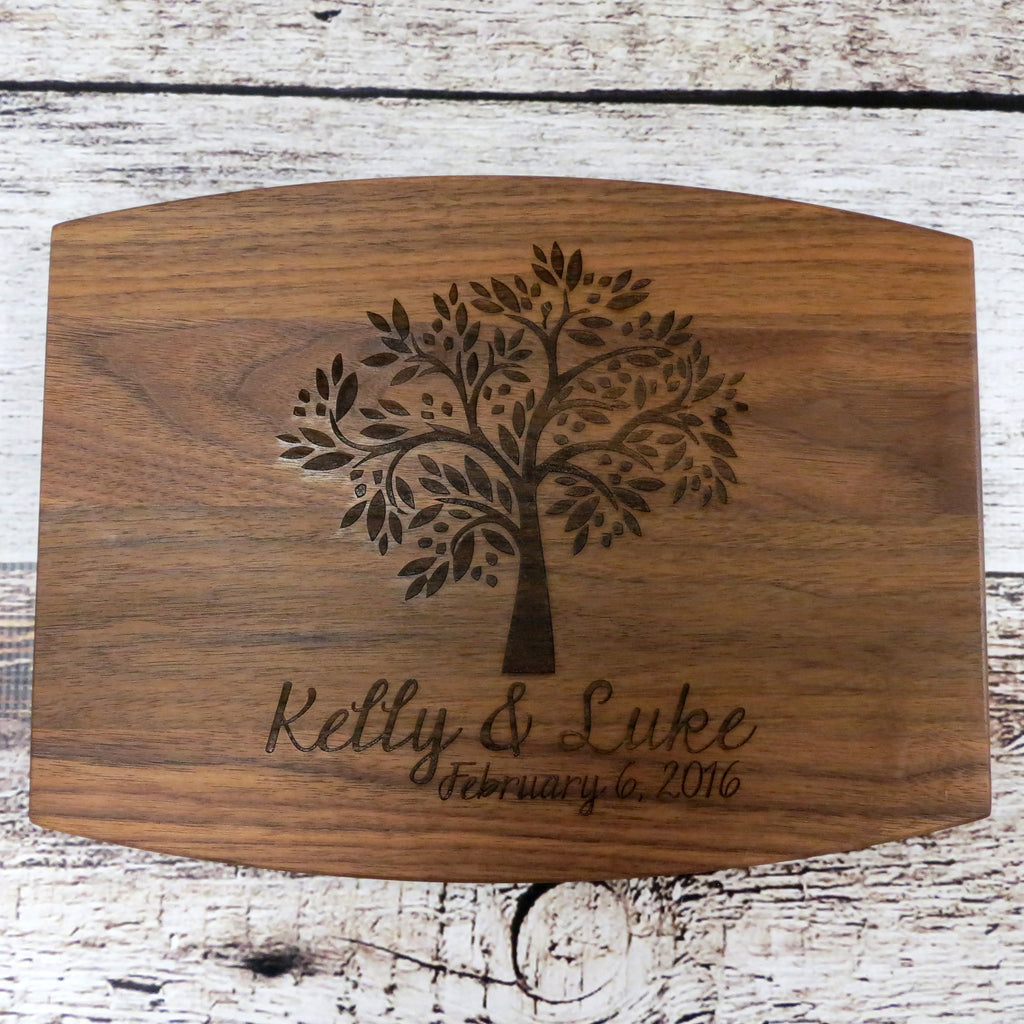 Tree of Life Cutting Board Personalized